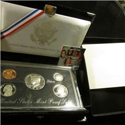 1992 S U.S. Silver Premier Proof Set, original as issued.