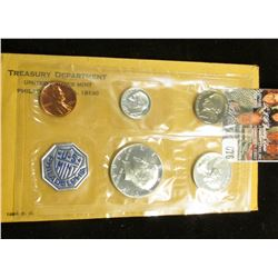 1964 P U.S. Proof Set in original cellophane and envelope.