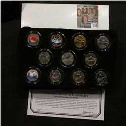 """""""Ultimate Nickel Collection"""" with certificate of Authenticity. Contains all the designs of 2004 in f"""