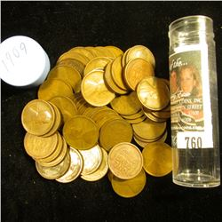 1909 P Solid-date Roll of Lincoln Cents (52 pcs.) Grades in this roll go up to EF, not your standard