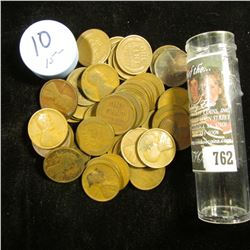 1910 P Solid-date Roll of Lincoln Cents (56 pcs.) Grades in this roll go up to VF, not your standard