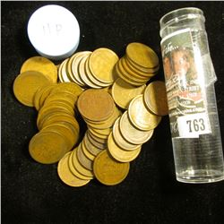 1911 P Solid-date Roll of Lincoln Cents (55 pcs.) Grades average VG in this group.