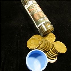 1919 S Solid-date Roll of Lincoln Cents (52 pcs.) Grades up to Very Fine.