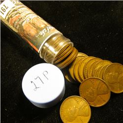 1927 P Solid-date Roll of Lincoln Cents (more than 50 pcs.) Grades up to Very Fine.