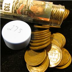 1927 S Solid-date Roll of Lincoln Cents (more than 50 pcs.) Grades up to Fine.