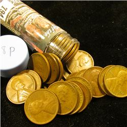 1928 P Solid-date Roll of Lincoln Cents (more than 50 pcs.) Grades up to Very Fine.