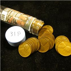 1931 P Solid-date Roll of Lincoln Cents (more than 50 pcs.) Grades up to VF.