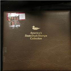 """1994 Album """"America's State Duck Stamps Collection A complete mint stamp collection of new and beaut"""