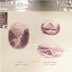 """Bureau of Engraving and Printing No.11 June 18, 1993 Michael Bean Plate Printer"" Proof."