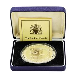 1981 Uganda 4 oz. Silver 500 Shillings Proof Pearl of Africa Coin