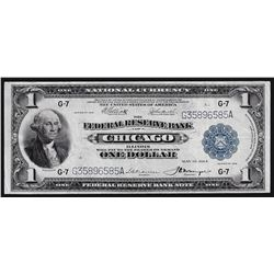 1914 $1 The Federal Reserve Bank of Chicago National Currency Note