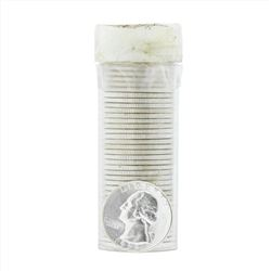 Roll of (40) 1958 Brilliant Uncirculated Washington Quarters