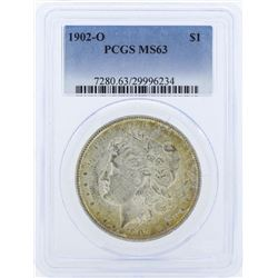 1902-O $1 Morgan Silver Dollar Coin PCGS MS63