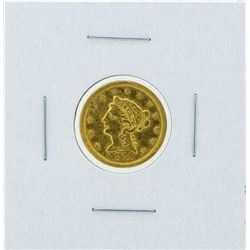 1871-S $2 1/2 Liberty Head Quarter Eagle Gold Coin