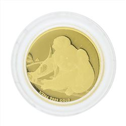 2010 $5 Australia Proof 1/25 oz Koala Gold Coin