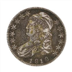 1819 Capped Bust Half Dollar Coin
