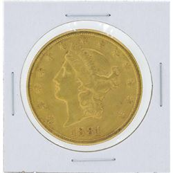 1881-S $20 Liberty Head Double Eagle Gold Coin