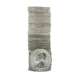 Roll of (40) 1941 Brilliant Uncirculated Washington Quarters