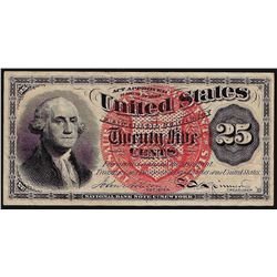 March 3, 1863 25 Cents 4th Issue Fractional Note