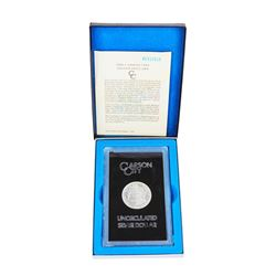 1882-CC $1 Morgan Silver Dollar Coin GSA w/ Box & COA