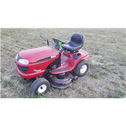 "Craftsman riding mower, 42"", B&S 18.5 hp eng., like new!"
