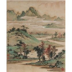 Huang Junbi 1898-1991 Chinese Watercolour on Paper