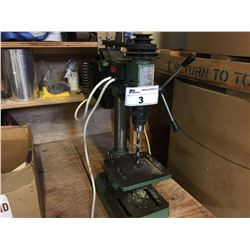 CENTRAL MACHINERY SKU-1844 BENCH TOP DRILL PRESS