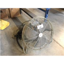 SHOP FAN & EXTENSION CORD/HOSE
