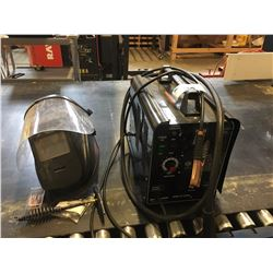 POWER FIST WIRE WELDER WITH FACESHIELD
