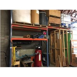 8 BAYS OF ASSORTED SIZED PALLET RACKING -
