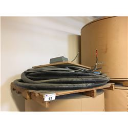 PALLET OF ASSORTED HEAVY DUTY WIRING/CABLE