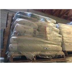 PALLET OF ASSORTED TEXTURE SAND