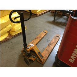 LIFTRITE 5500LBS MOBILE PALLET JACK