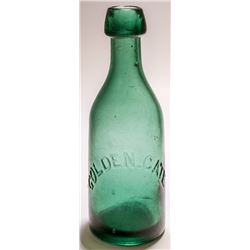 Golden Gate Green Soda Bottle (San Francisco, California)