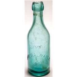 Summit Mineral Water, Jacob Hoehn Soda (Lake Tahoe, California)