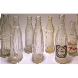 California Crown Bottle Collection (Hayward, Yreka, Preston, Vallejo, Santa Rosa, California)