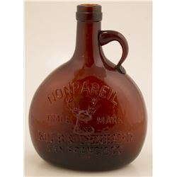 Kolb and Denhard, Nonpareil Whiskey. Thomas Flask Number 35 (California)