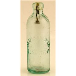 James Dewar Hutchinson Style Soda Bottle (Elko, Nevada)
