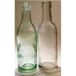 Yerington Ice and Soda Water Co. Bottle & One Extra (Yerington, Nevada)