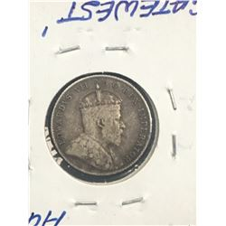 1906 CANADA 10 CENTS!VG-8