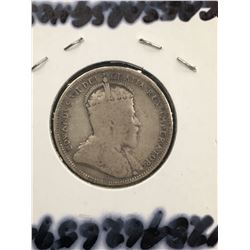 1904 CANADA 25 CENTS! G-6