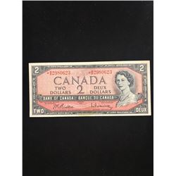 1954 $2.00 REPLACEMENT  NOTE!