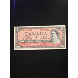 1954 BANK OF CANADA $2.00 NOTE!GEM UNC!