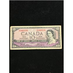 1954 $10.00 DEVILS FACE NOTE!