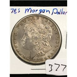 1878S U.S.A MORGAN DOLLAR!AU