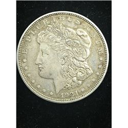 1921D MORGAN SILVER DOLLAR!