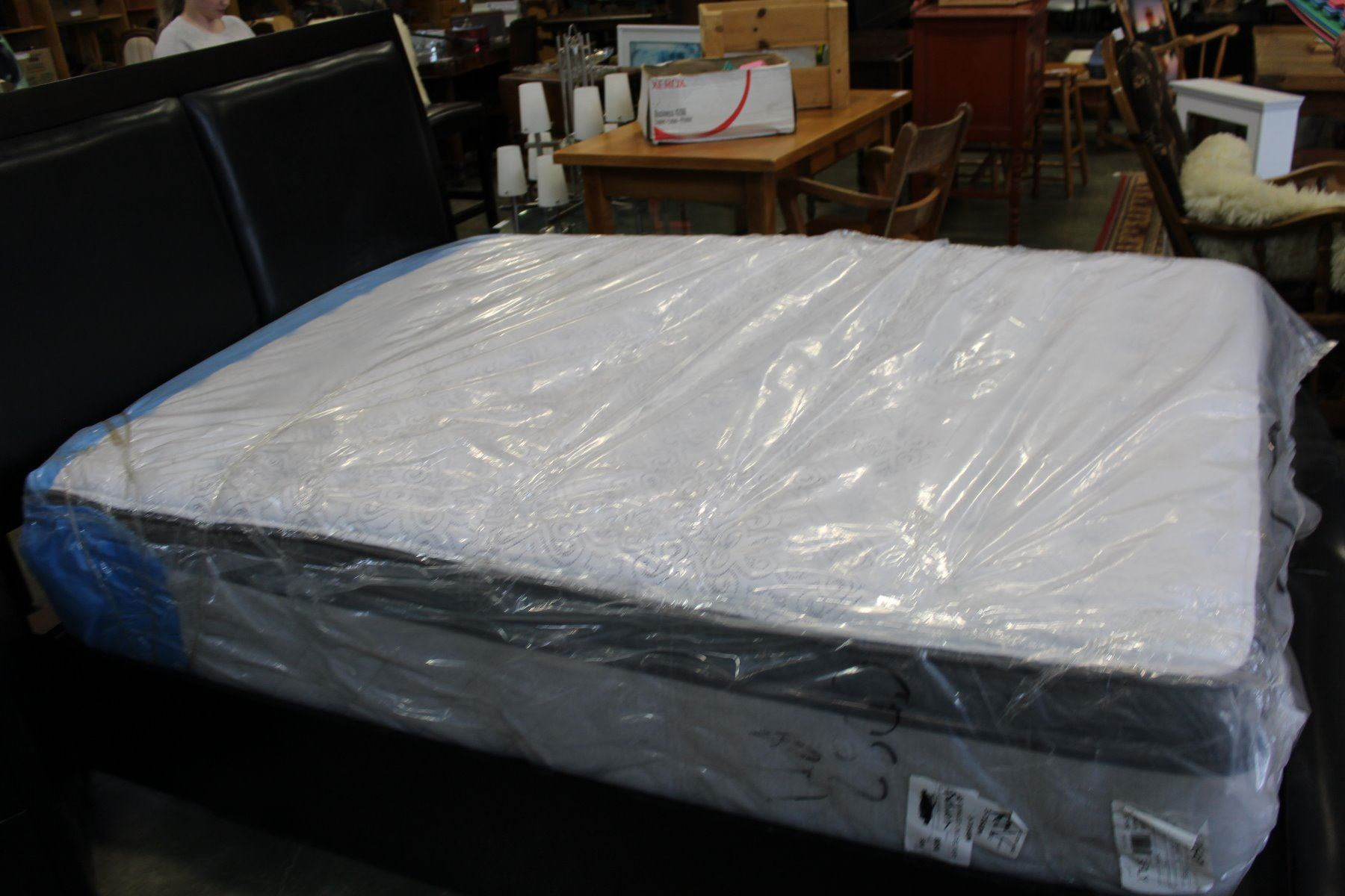 Brand New Queen Size Eurotop Mattress Big Valley Auction