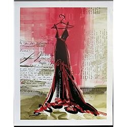 "Fine Art Print ""Perfect Black Dress"" by Kimberly Han"
