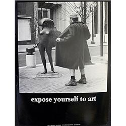 "Fine Art Print ""Expose yourself to Art"" by Michael Beard"