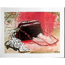"Fine Art Print ""Hankerchief and Purse"" by Kimberly Han"